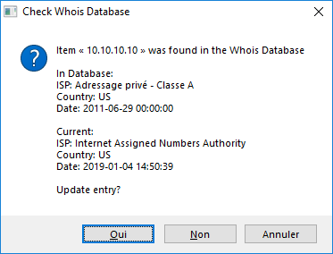 Xl-Whois Check Database - Check after