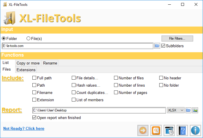 Le-tools com - XL-FileTools