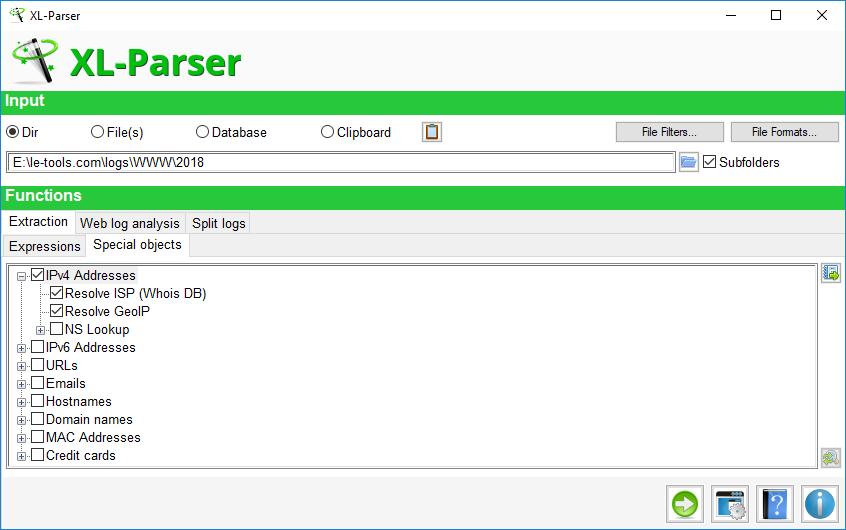 Le-tools com - XL-Parser