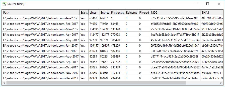 Le-tools com - XL-Parser - Documentation
